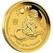 Zlatá mince Rok Opice 1/2 oz