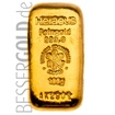 Zlatý slitek Heraeus 100 g