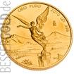 Zlatá mince 1 oz (trojská unce) LIBERTAD Mexico 2017