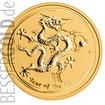 Zlatá mince Rok Draka 2 oz
