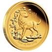 Zlatá mince Rok Psa 1/10 oz