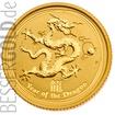 Zlatá mince 1/2 oz (trojské unce) ROK DRAKA Austrálie 2012