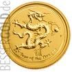Zlatá mince Rok Draka 1/4 oz