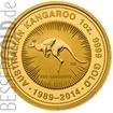 Zlatá mince Kangaroo 25 let jubileum 1 oz