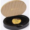 Zlatá mince 1 oz (trojská unce) ROK HADA PROOF Austrálie 2013