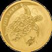 Zlatá mince 1 oz (trojská unce) TAKU - KARETA PRAVÁ Fidži 2017