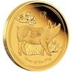 Zlatá mince Rok Vepře 10 oz