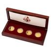 Sada čtyř zlatých medailí Šlechtický rod Kolowrat-Krakowských proof