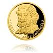 Sada čtyř zlatých mincí Šlechtický rod Pánů z Rožmitálu proof