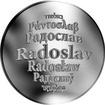 Česká jména - Radoslav - stříbrná medaile