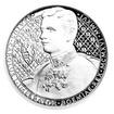 Česká mincovna Stříbrná mince 1NZD Karel I. PROOF