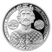 Česká mincovna Stříbrná mince 50c Karel Veliký PROOF