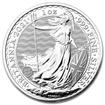 British Royal Mint Stříbrná mince Britannia 1 oz (2021)