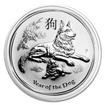 Perth Mint Stříbrná mince Year of the Dog - Rok Psa 1 oz (2018)
