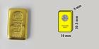 Investiční zlatý slitek 250g Argor Heraeus SA Švýcarsko