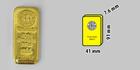 Investiční zlatý slitek 500g Argor Heraeus SA Švýcarsko