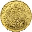 Zlatá investiční mince Desetikoruna Františka Josefa I. 1912 (novoražba)