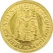 Zlatá mince Svatý Václav Jednodukát Československý 1927