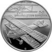 Stříbrná mince 200 Kč Sestrojení prvního letadla Bohemia B-5 100. výročí 2019 Proof