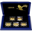 Premium Size Gold Bar Eagle Collection Sada zlatých mincí 2016 Proof
