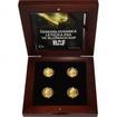 Sada čtyř zlatých mincí Československá letecká esa ve službách RAF 2017 Proof