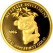 Zlatá mince My little investment - Panda 2016 Proof