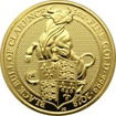 Zlatá investiční mince The Queen's Beasts The Black Bull 1 Oz 2018