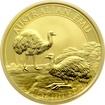 Zlatá investiční mince Emu 1 Oz 2020