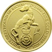 Zlatá investiční mince The Queen´s Beasts The White Greyhound 1/4 Oz 2021