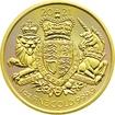 Zlatá investiční mince Royal Arms 1 Oz 2021