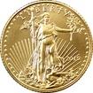 Zlatá investiční mince American Eagle 1/10 Oz