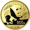Zlatá investiční mince Panda 30g 2016