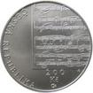 Pamětní stříbrná mince Gustav Mahler-proof verze