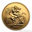 Britská zlatá Pětilibra 5 libra