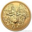 Zlatá mince  rakouská Císařská koruna-100 Eur 2009 1/2 Oz