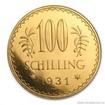 Zlatá mince rakouských sto šilinků-1931 100 šilink