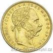 Zlatá mince Osmizlatník Františka Josefa I.-uherská ražba 1889 8 zlatník