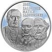 2013 - 10 € - Matica slovenská - 150. výročie založenia Ag Proof