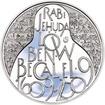 200 Kč 400 let úmrtí Rabí Jehuda Löw Proof