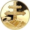 Slovenský dvojkříž - jubilejní dukát