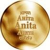 Česká jména - Anita - zlatá medaile