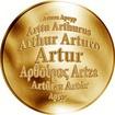 Česká jména - Artur - zlatá medaile