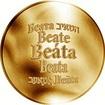 Česká jména - Beáta - zlatá medaile