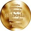 Česká jména - Blahoslav - zlatá medaile