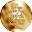 Česká jména - Bořek - zlatá medaile