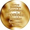 Česká jména - Bronislav - zlatá medaile