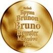 Česká jména - Bruno - zlatá medaile