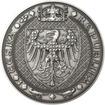 Nejkrásnější medailon III. Císař a král - 1 kg Ag patina