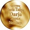Česká jména - Darja - zlatá medaile