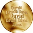 Česká jména - David - zlatá medaile